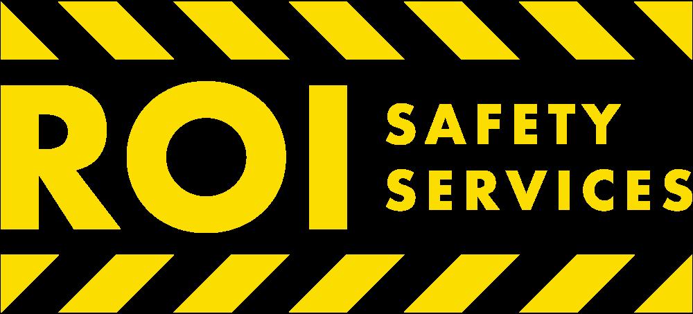 ROI Safety Services Logo Yellow OSHA California Training