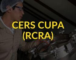 CERS CUPA (RCRA)