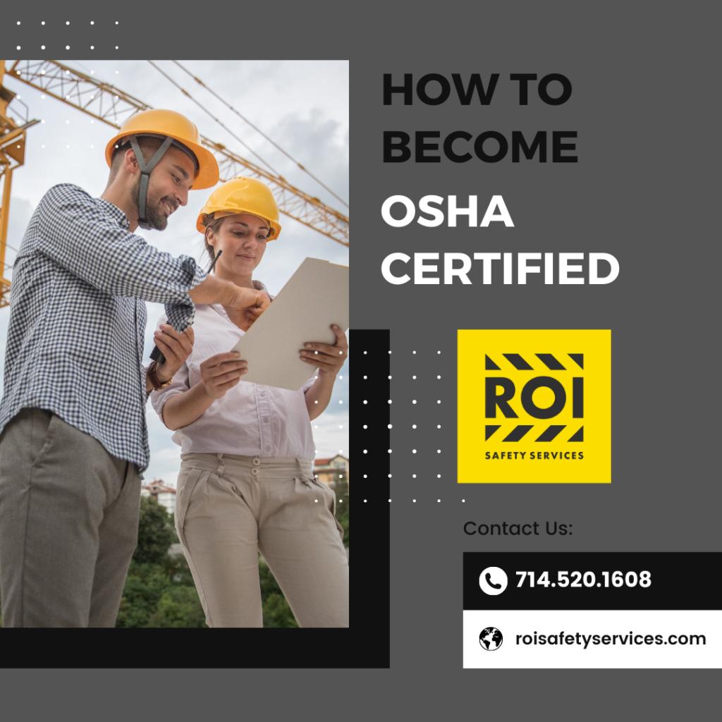 how to become osha certified